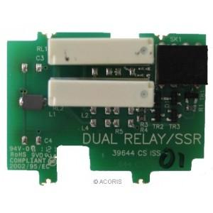 P02-W09 double relais pour sortie 2 ou 3