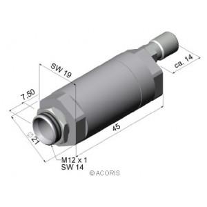 Boitier de soufflage d'air ACCTAP OPTRIS
