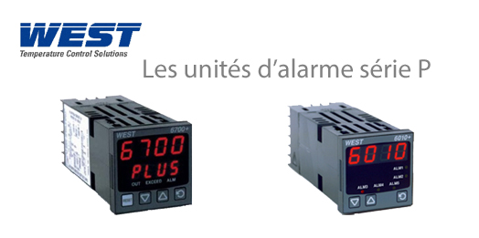 Unit�s d'alarme WEST